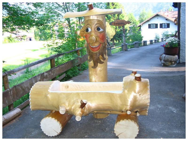 Kabbars Holzbrunnen Original Holzbrunnen Aus Pfronten Im Allgäu
